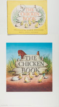 Books:Children's Books, Garth Williams. SIGNED/INITIALED. Stapled Proof of The ChickenBook, 1946. Signed in ink in full by Garth ...