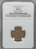 Civil War Merchants, 1864 Dr. L.C. Rose, Detroit, MI, F-225BL-4d, R.9, MS65 NGC. ...