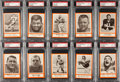 Football Cards:Sets, 1967 Royal Castle Dolphins Partial Set (16) - #1 on the PSA SetRegistry! ...