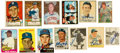 Autographs:Sports Cards, 1930's-2000's Baseball Trading Cards with Modern Signed Autographs Lot of 90+. ...