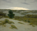 Fine Art - Painting, American:Modern  (1900 1949)  , CHARLES WARREN EATON (American, 1857-1937). The Gray Dunes,Belgium. Oil on canvas. 30 x 36 inches (76.2 x 91.4 cm). Sig...