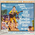 "Movie Posters:Elvis Presley, Paradise -- Hawaiian Style (Paramount, 1966). Six Sheet (81"" X81""). Elvis Presley.. ..."