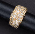Estate Jewelry:Rings, Gold Diamond & Nugget Ring. ...