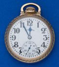 Timepieces:Pocket (post 1900), Illinois 161 A Elinvar 21 Jewel Bunn Special 16 Size Pocket Watch....