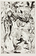 Original Comic Art:Splash Pages, Angel Gabriele Loki and the Norn Queen Splash Page OriginalArt (undated).. ...