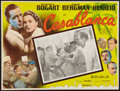 "Movie Posters:Academy Award Winners, Casablanca (United Artists, R-1960s). Mexican Lobby Card (12.5"" X16.5""). Academy Award Winners.. ..."