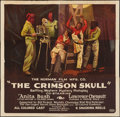 "Movie Posters:Black Films, The Crimson Skull (Norman, 1922). Six Sheet (81"" X 81""). BlackFilms.. ..."