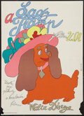 """Movie Posters:Animation, Lady and the Tramp (Buena Vista, 1974). First Czech Release Poster (11"""" X 16""""). Animation.. ..."""