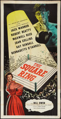 "Movie Posters:Sports, The Square Ring (Rank, 1953). British Three Sheet (40"" X 79""). Sports.. ..."