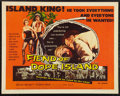 "Movie Posters:Exploitation, Fiend of Dope Island (Essanjay, 1959). Half Sheet (22"" X 28"").Exploitation.. ..."