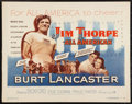 "Movie Posters:Sports, Jim Thorpe - All American (Warner Brothers, 1951). Half Sheet (22"" X 28""). Sports.. ..."