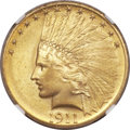 Indian Eagles, 1911 $10 MS65 NGC....