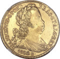 Brazil, Brazil: Joao VI (as King) gold 6400 Reis 1822-R,...