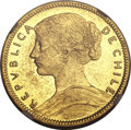 Chile, Chile: Republic gold 20 Pesos 1910,...