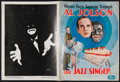 "Movie Posters:Musical, The Jazz Singer (Warner Brothers, 1927). Souvenir Program (20 Pages, 9"" X 12""). Musical.. ..."