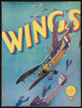 "Movie Posters:Academy Award Winners, Wings (Paramount, 1927). Souvenir Program (20 Pages, 9"" X 12"").Academy Award Winners.. ..."