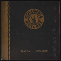 """Columbia Exhibitor Book (Columbia, 1931). Exhibitor Book (Multiple Pages, 12"""" X 12.5""""). Miscellaneous"""