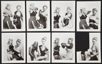 """Pin-Up Photo Lot (Various, 1950's). Photos (98 on 18 pages) (4"""" X 5"""" to 8"""" X 10""""). Miscellaneous..."""