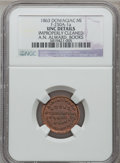 Civil War Merchants, 1863 A.N. Alward, Dowagiac, MI, F-250A-1a, R.7 -- ImproperlyCleaned -- NGC Details. Unc. ...
