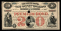 Obsoletes By State:Louisiana, New Orleans, LA- Premium Bond City of New Orleans $20 July 15, 1875 . ...