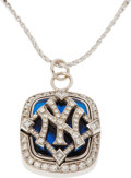 Baseball Collectibles:Others, 2009 New York Yankees World Championship Pendant....