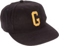 Football Collectibles:Others, 1980's Eddie Robinson Signed Grambling State Tigers Coach's Cap....