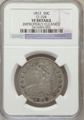 Bust Half Dollars: , 1812 50C -- Improperly Cleaned -- NGC Details. VF. O-104. NGCCensus: (10/715). PCGS Population (20/839). Mintage: 1,628,05...