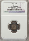 Bust Dimes: , 1836 10C -- Improperly Cleaned -- NGC Details. VF. JR-3. NGCCensus: (1/198). PCGS Population (5/236). Mintage: 1,190,000. ...