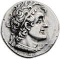 Ancients:Greek, Ancients: Ptolemy VI Philometor (180-145 BC). AR tetradrachm (27mm,14.16 gm, 11h). ...