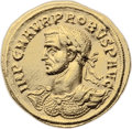 Ancients:Roman Imperial, Ancients: Probus (AD 276-282). AV aureus (22mm, 6.36 gm, 11h). ...