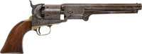 Rare and Historic Factory-Engraved Colt Model 1851 Navy Percussion Revolver Inscribed to Confederate Colonel Robert McMi...