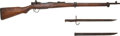 Long Guns:Bolt Action, Japanese Type 99 Short Bolt Action Military Rifle with Bayonet.... (Total: 2 )