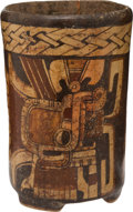 Pre-Columbian:Ceramics, Reassembled Pre-Columbian Ceramic Pot....