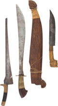 Edged Weapons:Other Edged Weapons, Lot of 4 Assorted Philippine Tools.... (Total: 5 )