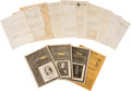 Antiques:Antiquities, Lot of Assorted Civil War Documents. ... (Total: 4 )