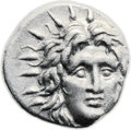Ancients:Greek, Ancients: Rhodes. Ca. 230-205 BC. AR didrachm (20mm, 6.36 gm, 12h)....