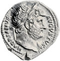 Ancients:Roman Imperial, Ancients: Hadrian (AD 117-138). AR denarius (19mm, 3.32 gm, 6h)....