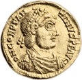 Ancients:Roman Imperial, Ancients: Constantine III (AD 407-411). AV solidus (21mm, 4.42 gm,6h). ...
