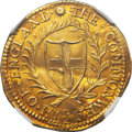 Great Britain, Great Britain: Commonwealth gold Double Crown 1651,...