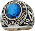 Baseball Collectibles:Others, 1963 Los Angeles Dodgers World Championship Ring Presented to JerryDoggett....