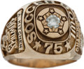 Miscellaneous Collectibles:General, 1975 Tampa Bay Rowdies NASL Soccer Bowl Championship Ring....