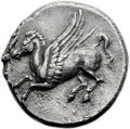 Ancients:Greek, Ancients: Syracuse. Timoleon and the Third Democracy (344-317 BC).AR stater (22mm, 8.55 gm, 3h)....