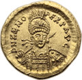 Ancients:Roman Imperial, Ancients: Zeno (second reign, AD 476-491). AV solidus (21mm, 4.43gm, 6h). ...