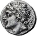 Ancients:Greek, Ancients: Syracuse. Gelon, son of Hieron II (274-216 BC). AR 8litrae (20mm, 6.42 gm, 9h). ...
