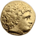 Ancients:Greek, Ancients: Philip II (359-336 BC). AV stater (18mm, 8.54 gm, 12h)....