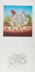 Books:Children's Books, Garth Williams. INITIALED. Finished Initialed Spreads for TheChicken Book, Howell, Soskin, 1946. 49...