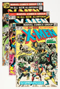 Bronze Age (1970-1979):Superhero, X-Men Group (Marvel, 1976-81) Condition: Average FN.... (Total: 17Comic Books)