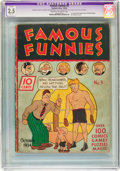 Platinum Age (1897-1937):Miscellaneous, Famous Funnies #3 (Eastern Color, 1934) CGC Apparent GD+ 2.5 Slight (A) Cream to off-white pages....
