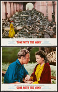 "Movie Posters:Academy Award Winners, Gone with the Wind (MGM, R-1968 & R-1974). Lobby Cards (2) (11""X 14"") & Photos (24) (8"" X 10""). Academy Award Winners.. ...(Total: 26 Items)"