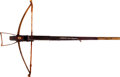 Military & Patriotic:Foreign Wars, European Hunting Crossbow Circa 17th Century. ...